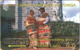 Tonga - TON-02, GPT, 1CTGB, Traditional Wedding Dress, Suits And Costumes, 5,000ex, 1994, Used - Tonga