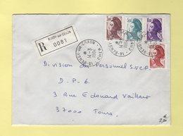 Liberte De Gandon - Bengy Sur Craon - Cher - Recommande - 14-3-1984 - Storia Postale