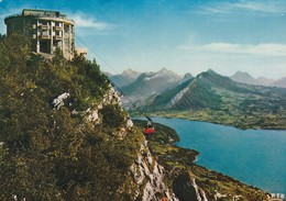 74 Lac D'Annecy, Téléphérique De Veyrier,Panorama Sur Le Massif Des Bauges - Annecy