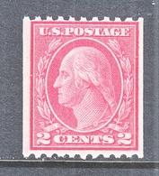 U.S  450  Perf. 10  Type  III   ROTARY  PRESS  *    Single Line Wmk. 190   1915 Issue - Unused Stamps