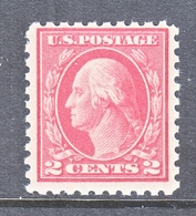U.S  463  Perf. 10  Type  I  FLAT PRESS   **       1916 Issue - Vereinigte Staaten