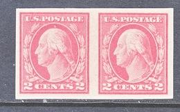 U.S  482 X 2   FLAT PRESS  Type  I   *    No Wmk.    1916 Issue - Unused Stamps