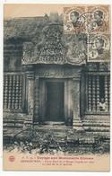 CPA - CAMBODGE - ANGKOR-WAT - Porte Nord Du 2e Etage, Facade Sur Cour Au Pied De La 3e Terrasse - Cambodge