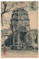 CPA - CAMBODGE - RUINES D'ANGKOR - Portique D'accès Aux Galeries à Angkor-Wat - Cambodge