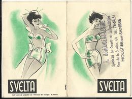 Calendrier De Poche 1958 - SVELTA - Magasin Dumonceau-Lesure ) MOUSTIER-sur-SAMBRE - Calendriers