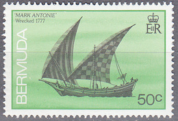BERMUDA      SCOTT NO  491    MNH     YEAR  1986 - Bermuda
