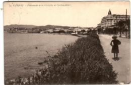 41lom 331 CPA - CANNES - PROMENADE DE LA CROISETTE ET CARLTON HOTEL - Cannes