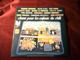 CHANT POUR LES ENFANTS DU CHILI  AVEC  GEORGES  BRASSENS  A  ANNE SYLVERTRE  33 TOURS 12 TITRES - World Music