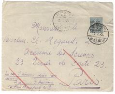 20296 - Semeuse Avec Surcharge - Lettres & Documents