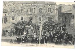 81 GREVES DE GRAULHET EN ATTENDANT LA SOUPE 1911 CPA 2 SCANS - Graulhet