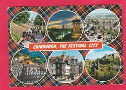 Modern Multi View Post Card Of Edinburgh,Scotland,W19. - Midlothian/ Edinburgh