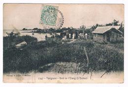 D  13  - Cpa -  MARIGNANE - BORD  DE  L' ETANG - ESTEOU  - 6244  TZ - Marignane