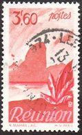 Réunion Obl. N° 273 - Détail De La Série émise En 1947 - 3f60 Rouge-brun Et Rose - Réunion (1852-1975)