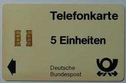 GERMANY - Chip - WI - Diese Telefonkarte Konnen Sie Benutzen - 5 Units - Used - T-Series : Tests