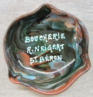 CENDRIER BOUCHERIE R. NEIGRAT ST BERON - Cendriers