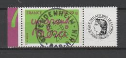 """FRANCE / 2005 / Y&T N° 3761A : Ben """"Merci"""" (TVP LP - Vignette Cérès) - Oblitéré 2005 06. SUPERBE ! - Personalizzati"""