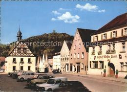 71892879 Pegnitz Marktplatz Mit Blick Auf Schlossberg Pegnitz - Pegnitz