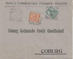 Italien: 1904: Venezia Nach Coburg - Perfin - Sin Clasificación