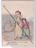 Algérie : Moutchatchous - Enfants Pauvres - Do Un Sou Madame !... - Scènes & Types