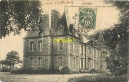 14 Le Coisel, En Ce Chateau Mourut Le Poète Chênedollé, Affranchie 1907 - France
