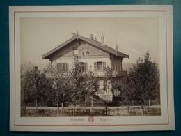 VICHY - CHALET DES ROSES (face Avant, Ancienne Propriété De Mr Fould- Photographie Ancienne Albuminée De Claudius Couton - Photos