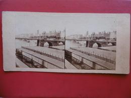 PARIS QUAI DE GESVRES PHOTO STEREO CIRCA 1860 C S M - Lieux