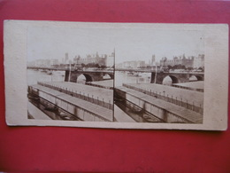 PARIS QUAI DE GESVRES PHOTO STEREO CIRCA 1860 C S M - Places