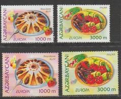 Azezbaidjan Europa 2005 N° 523 à 526 ** Gastronomie - Europa-CEPT