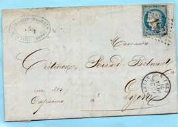 G.C.1971 LASALLE (29) Sur N°60 ,L.A.C. Du 26/6/71. - 1849-1876: Période Classique