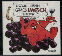 Etiquette De Vin // Dôle 1988, Caves Imesch, Super!! - Fumetti