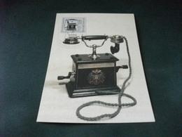 MAXIMUM TELEFONO ANTICO FERNSPRECHAPPARATE IM WANDEL DER ZEITEN DDR TISCHAPPARAT OB 05 1905 - Non Classificati