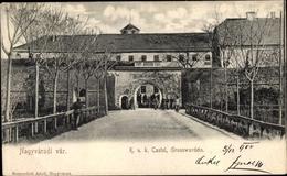 Cp Nagyvarad Oradea Rumänien, KuK Castel, Grosswardein - Roemenië