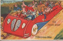 En Route Pour Villers Sur Mer Cartes Avec 10 Petites Vue De Villers - Villers Sur Mer
