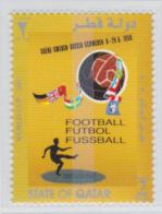 Qatar 1958 FIFA World Cup Football - Poster Of The Arrangement - Stamp Was Released 31.5.2002 MNH/** (H56) - Fußball-Weltmeisterschaft