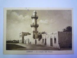 2019 - 1959  DJIBOUTI  :  La Mosquée Saïd HASSEN    - Gibuti