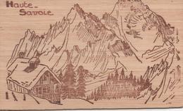 Haute Savoie Carte En Bois - France