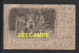DD / ETHNIQUES & CULTURES / LES TARGUIS /ANIMÉE / SUR CARTE D' ALGÉRIE EN 1902 - Afrique