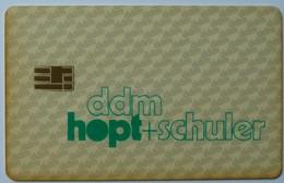 GERMANY - Orga - Specimen - Ddm Hopt + Schuler - 1989 - T-Series : Tests