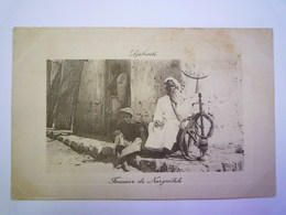 2019 - 1963  DJIBOUTI  :  Fumeur De Narguileh  1911    - Gibuti