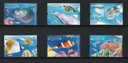 2019 HONG KONG UNDERWATER WORLD STAMP 6V CORAL FISH - 1997-... Chinese Admnistrative Region