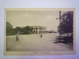2019 - 1971  DJIBOUTI  :  La Place LAGARDE    - Gibuti