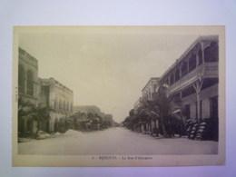 2019 - 1972  DJIBOUTI  :  La Rue D'Abyssinie    - Gibuti