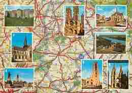 02 - Aisne - Multivues - Carte Géographique Michelin - Voir Scans Recto-Verso - Andere Gemeenten