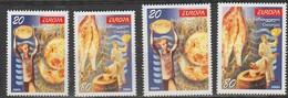 Georgie  Europa 2005 N° 379 à 382 ** Gastronomie - 2005