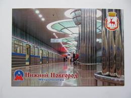 Russia Nizhny Novgorod Metro Strelka Station Modern PC - Métro