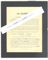 Armée Belge - Faire-part Humoristique D'un Militaire - Classe 1952 - Jupille  (b254) - Documents