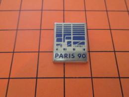 911D PIN'S PINS / Rare Et De Belle Qualité ! / Thème : TRANSPORTS / PARIS 90 CAMION CAMIONNETTE - Trasporti