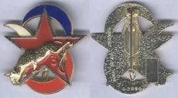 Insigne De L'Escadron D'Eclairage Divisionnaire De La 3e Division Blindée - Army