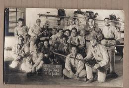CPA PHOTO MILITARIA - TB PLAN En CP Photographique Groupe Militaires Avec Fusils C.M. 2 - 81 ème - Regiments