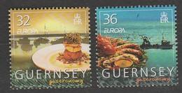 Guernesey Europa 2005 N° 1054/ 1055 **  Gastronomie - Europa-CEPT